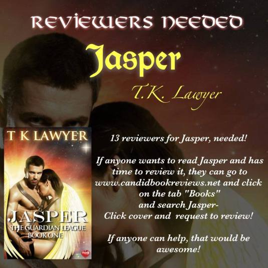 Jasper Reviewers Needed Image