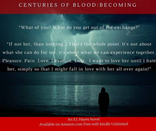 SI Hayes- Centuries of Blood teaser