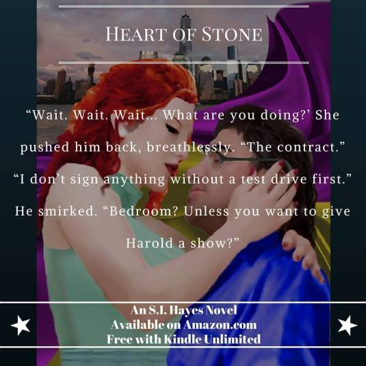 SI Hayes- Heart of Stone teaser