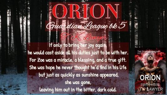orion- he would do anything for zoe